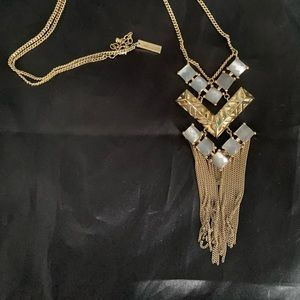 Limited Edition silver and gold arrow necklace